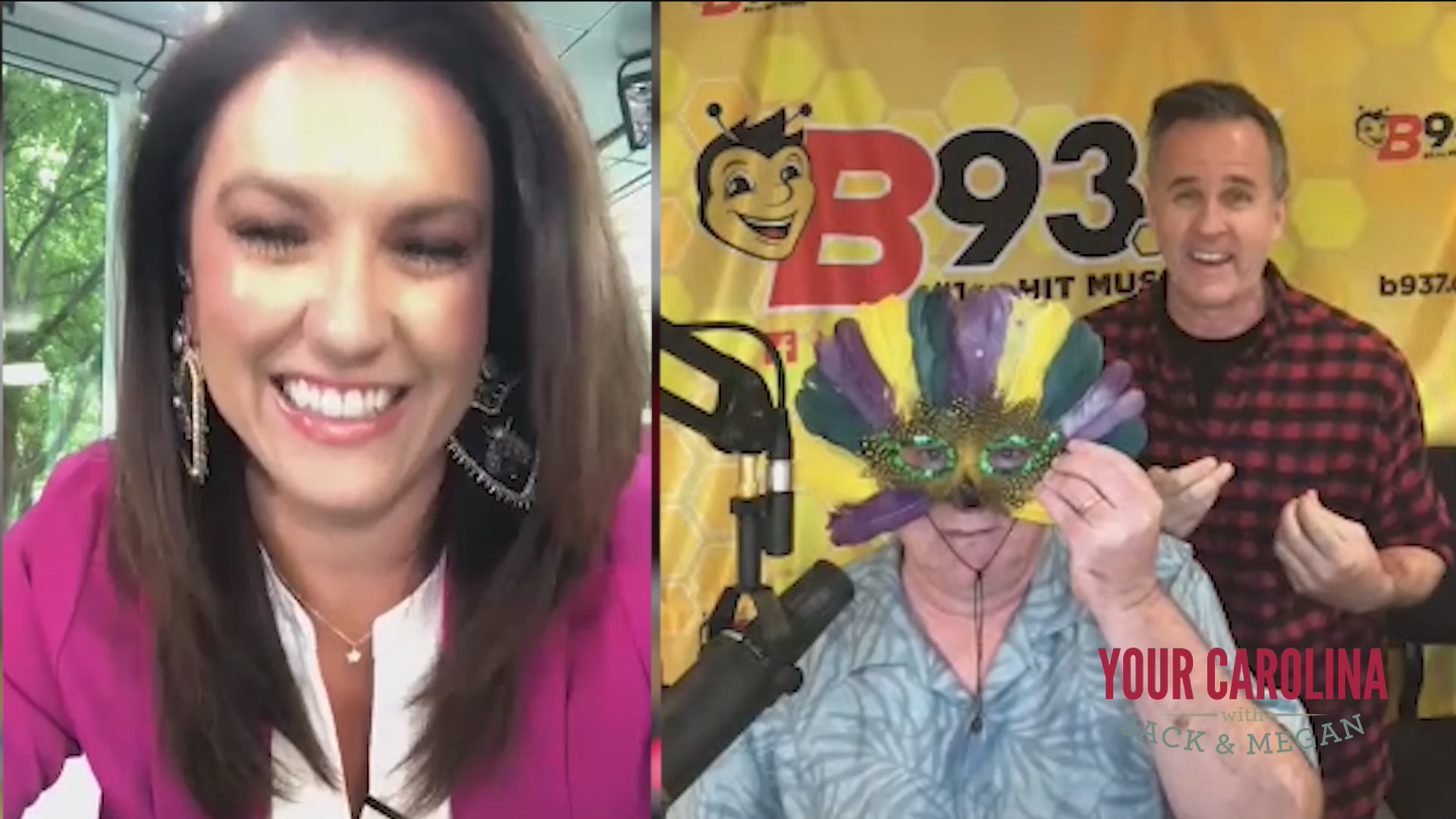 Megan Gets An Update From Hawk and Tom from B93.7