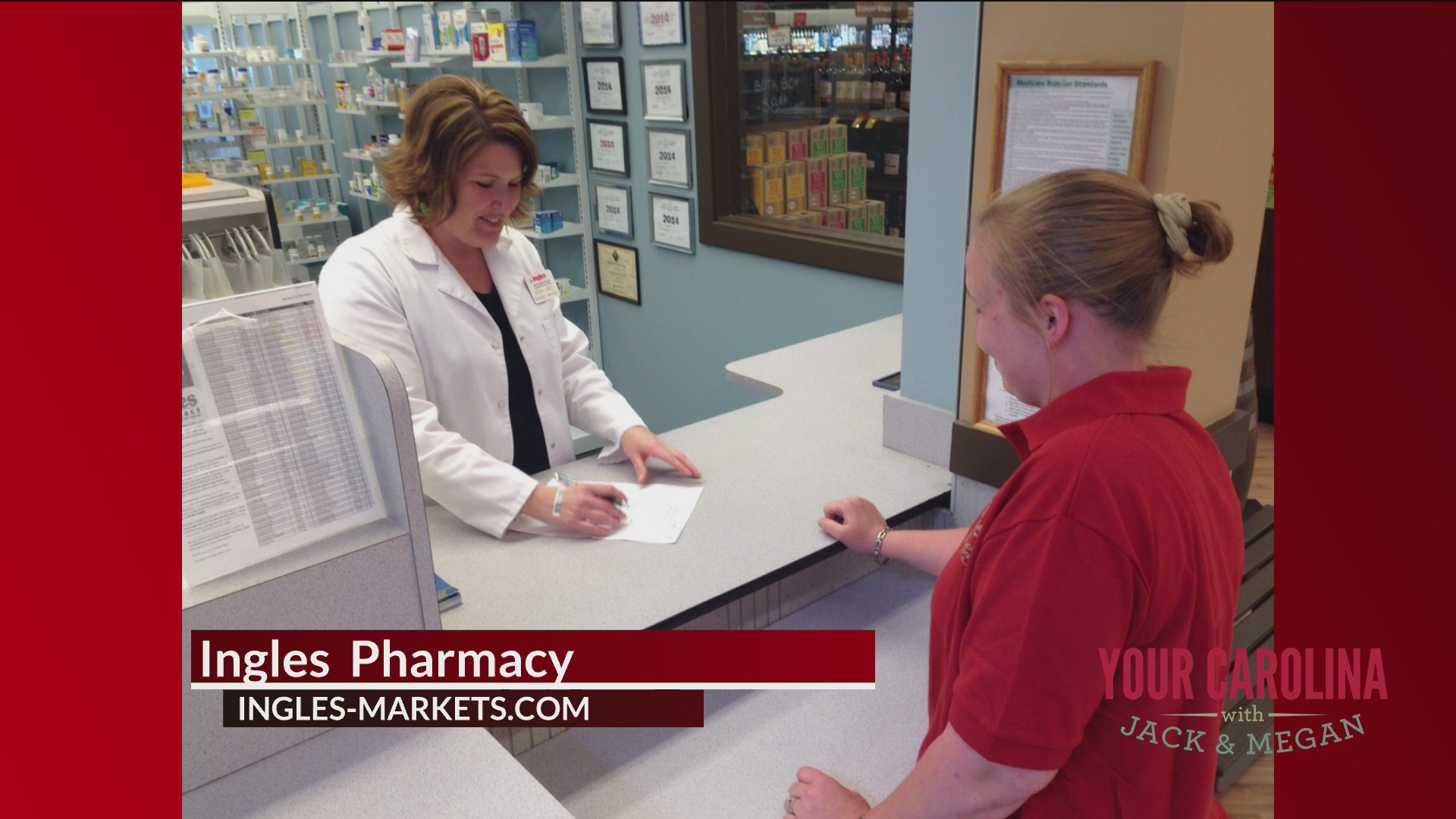 Ingles Pharmacy Helping Local