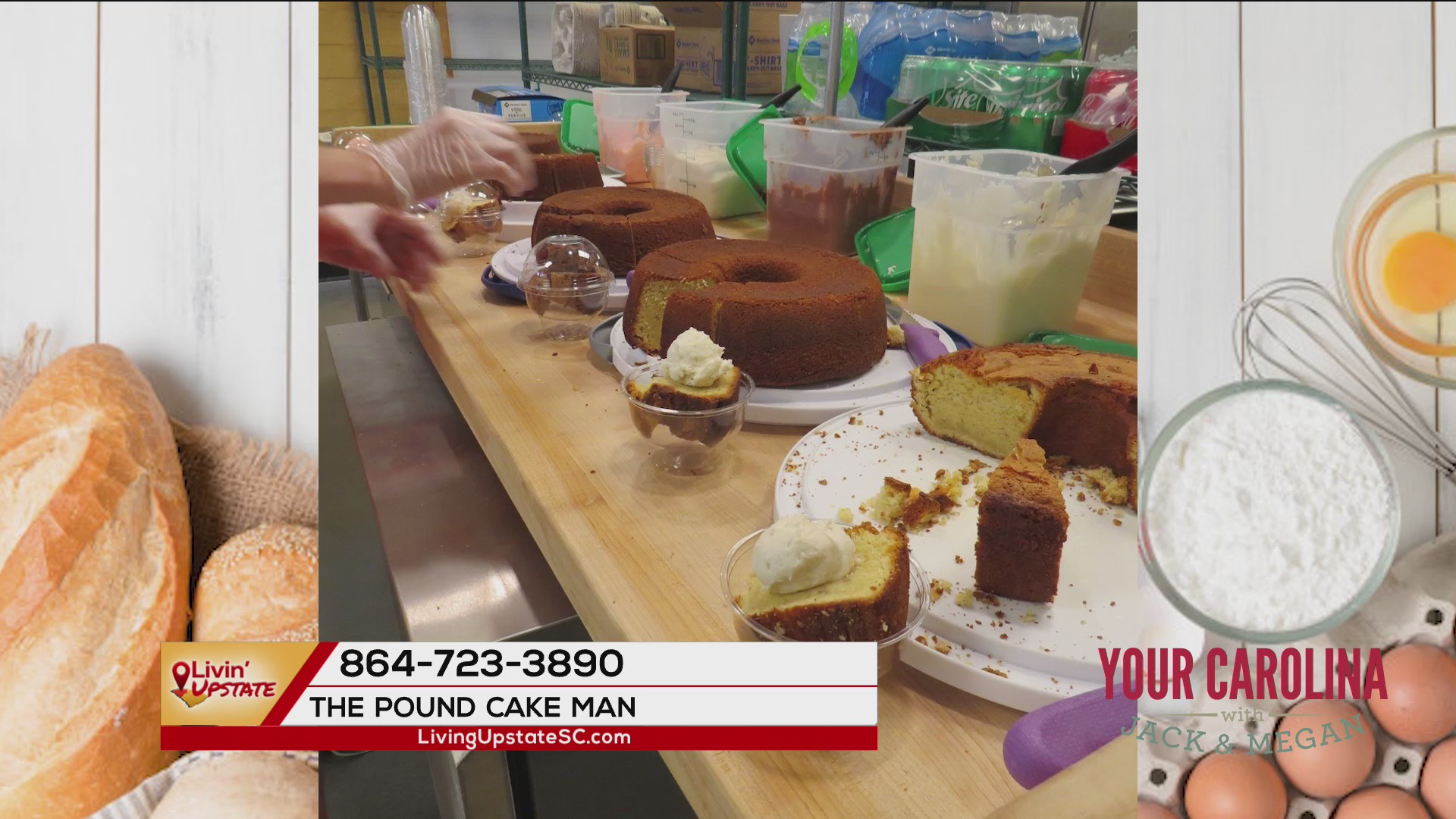 From food truck to storefront, The Pound Cake Man Bakery opens in Clemson