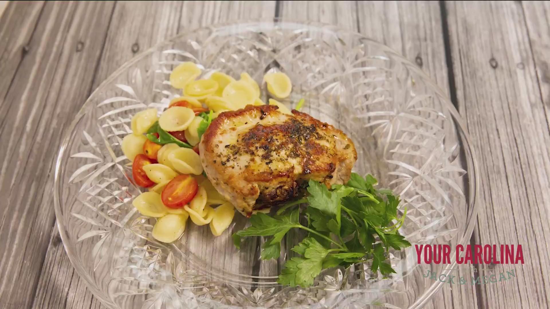 Chef's Kitchen - Italian Stuffed Pork Chop