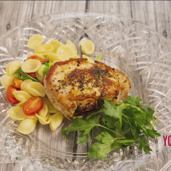 Chef's Kitchen - Italian Stuffed Pork Chop