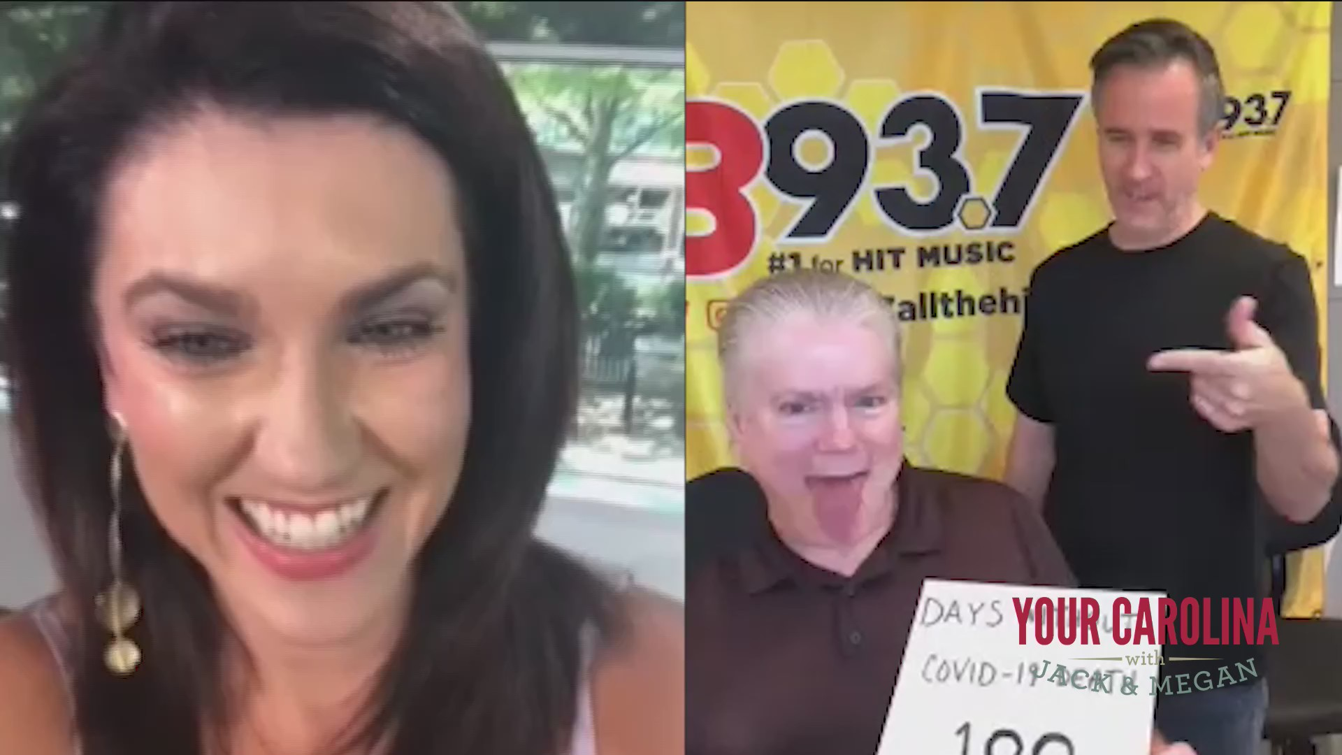 Hawk And Tom from B93.7 Tell Megan What They Have Been Up To