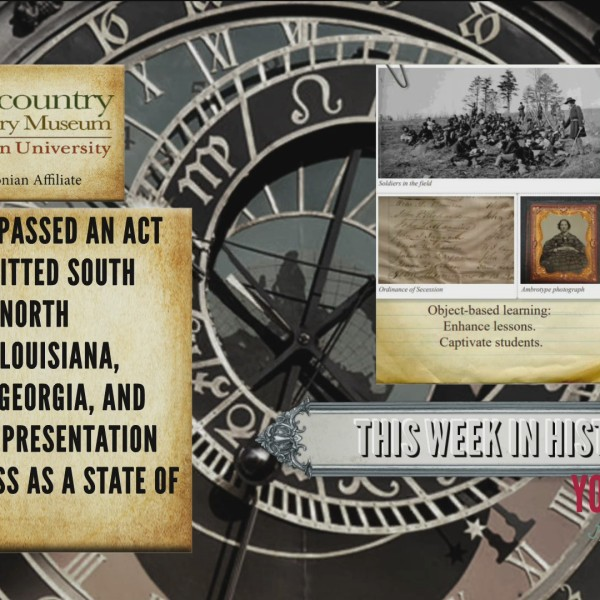 This Week In History - On This Day in 1868
