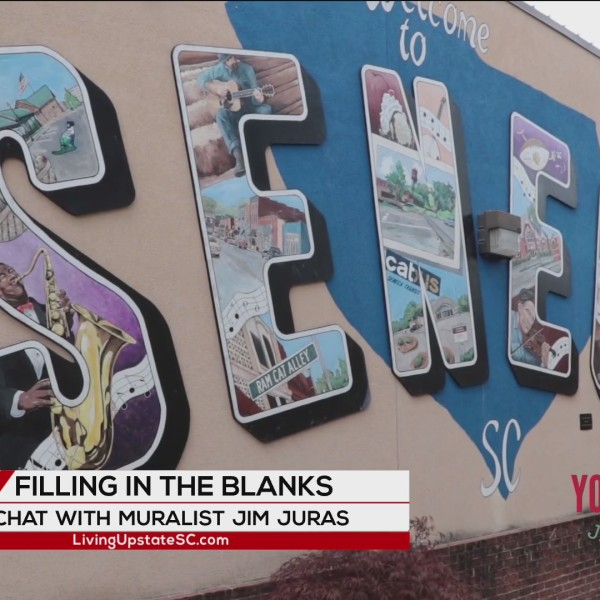 Upstate muralist Jim Juras creates art that is life-sized and lasting