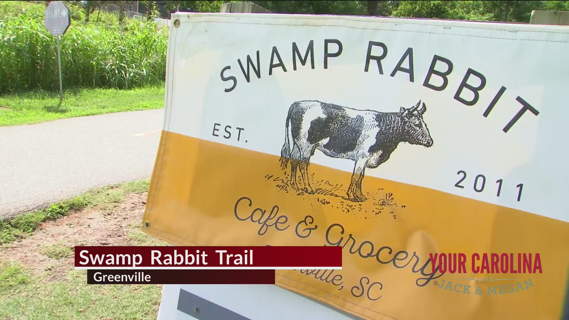 Destination Vacation - Swamp Rabbit Trail