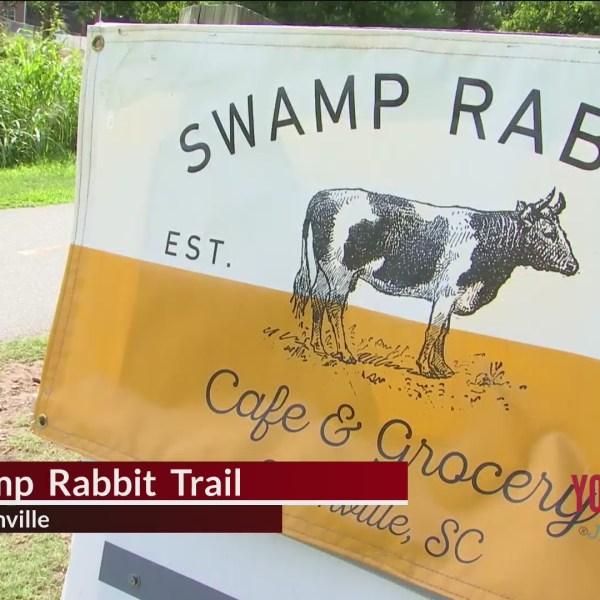 Destination Vacation - Swamp Rabbit Trail