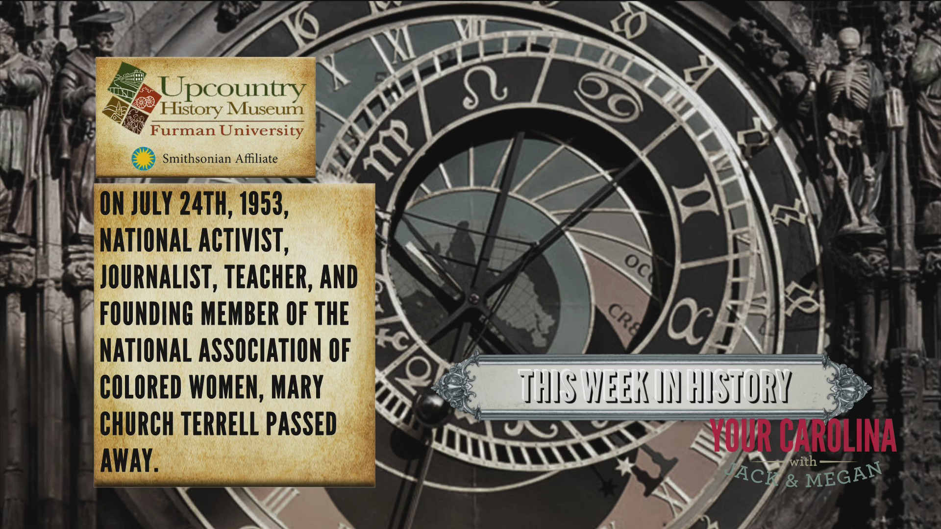 This Week in History - Mary Church Terrell