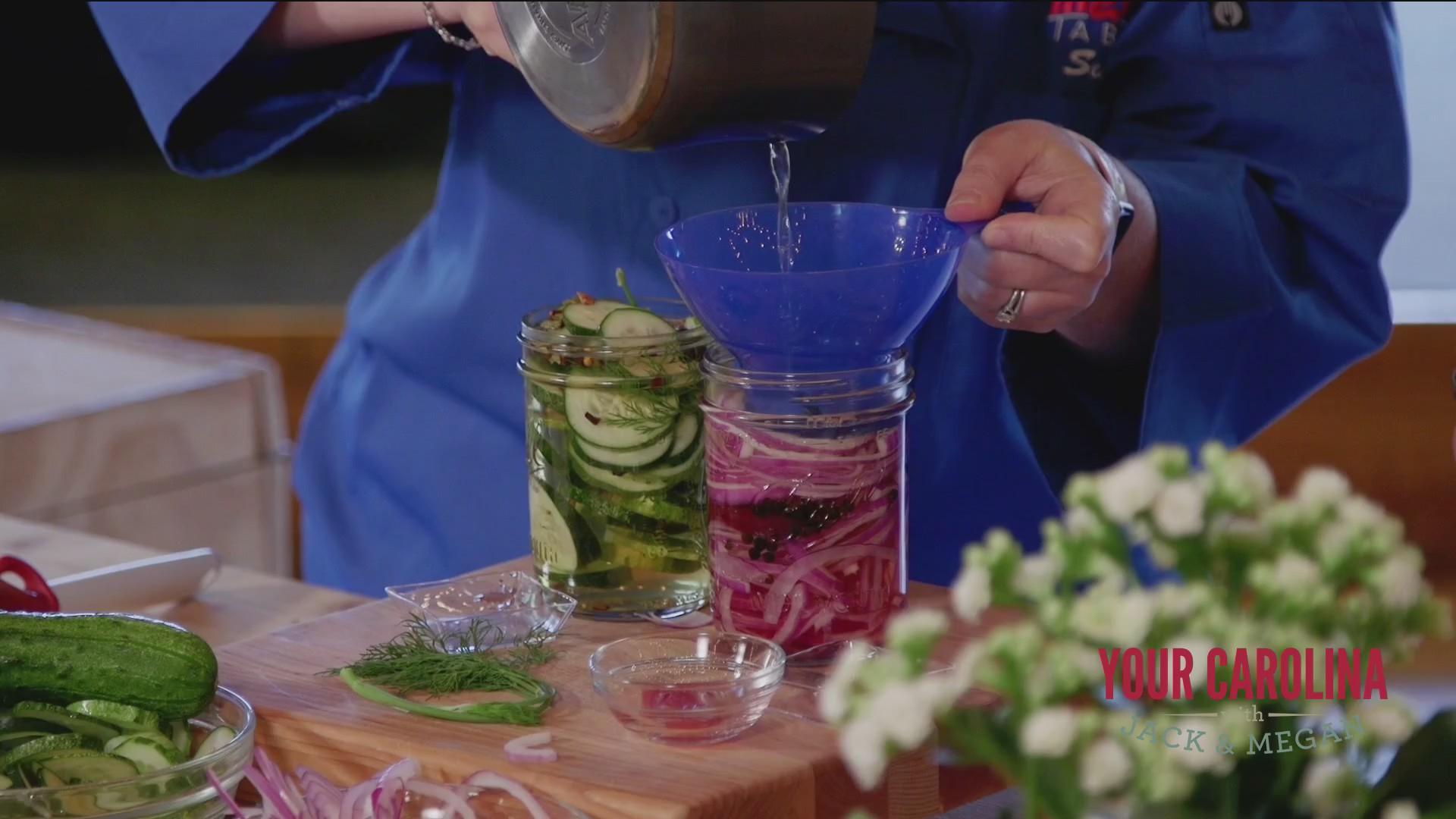 Chef's Kitchen - Quick Refrigerator Pickles