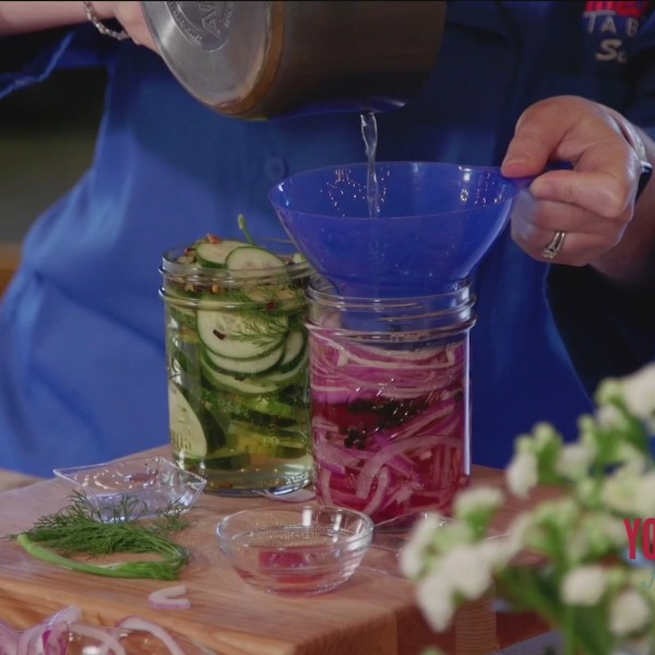 Chef's Kitchen - Quick Refrigerator Pickles