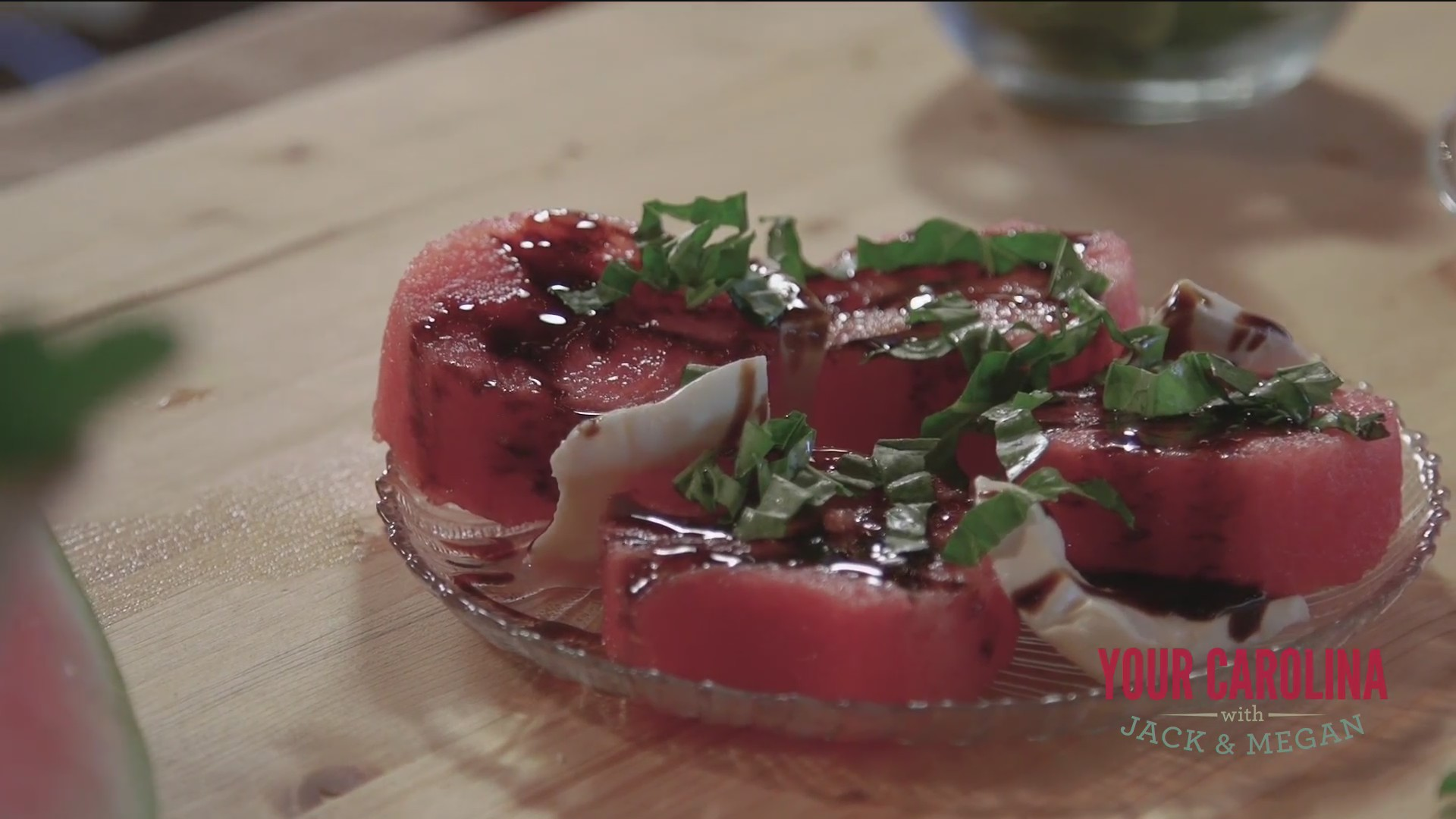 Chef's Kitchen - Watermelon Caprese Appetizer