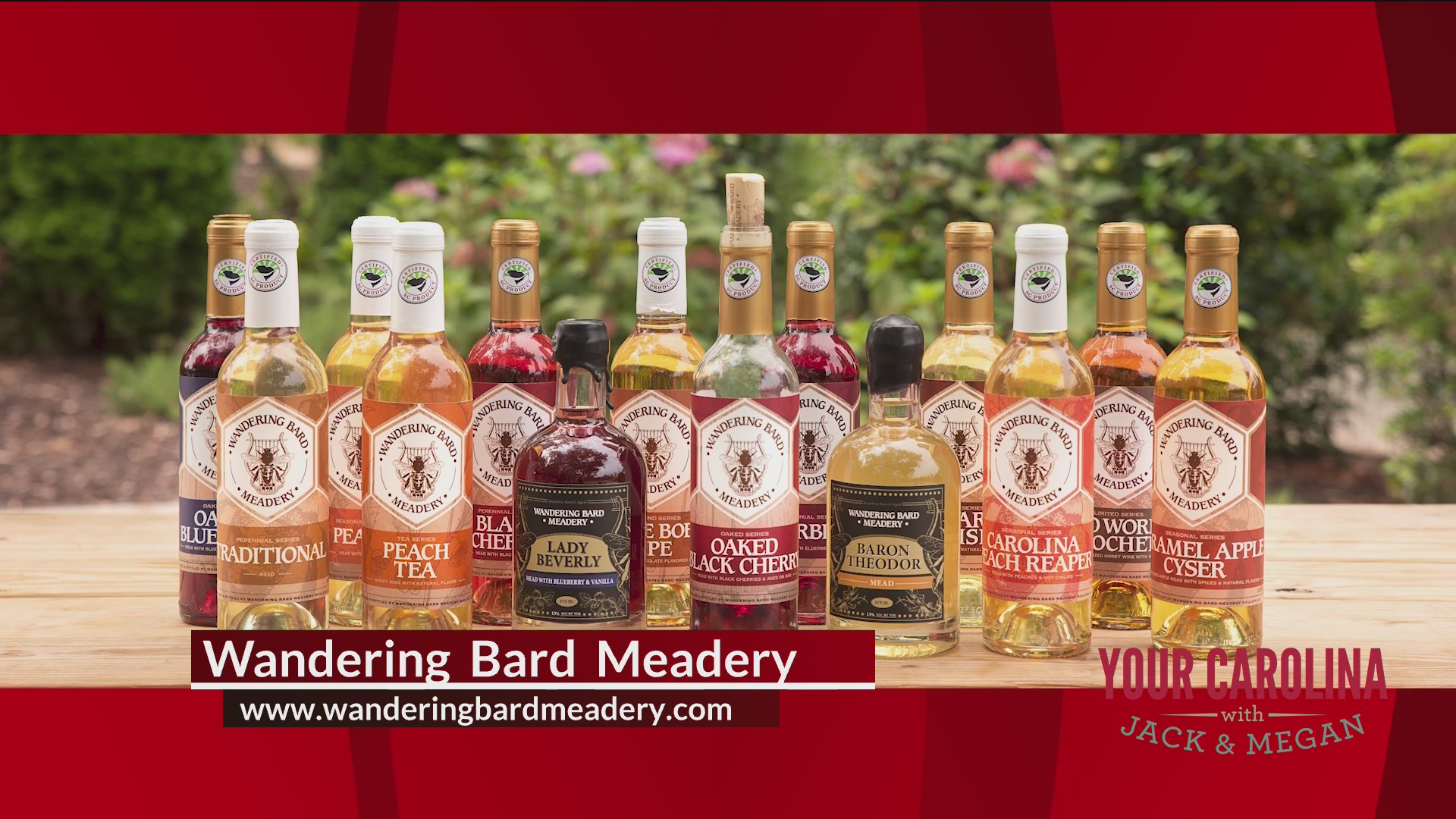 Mead Made in the Upstate - Wandering Bard Meadery