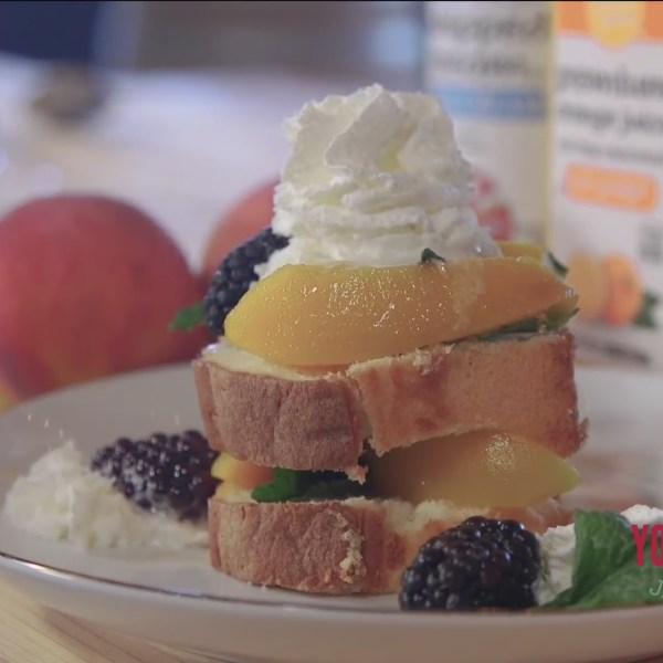 Chef's Kitchen - Peach and Mint Pound Cake
