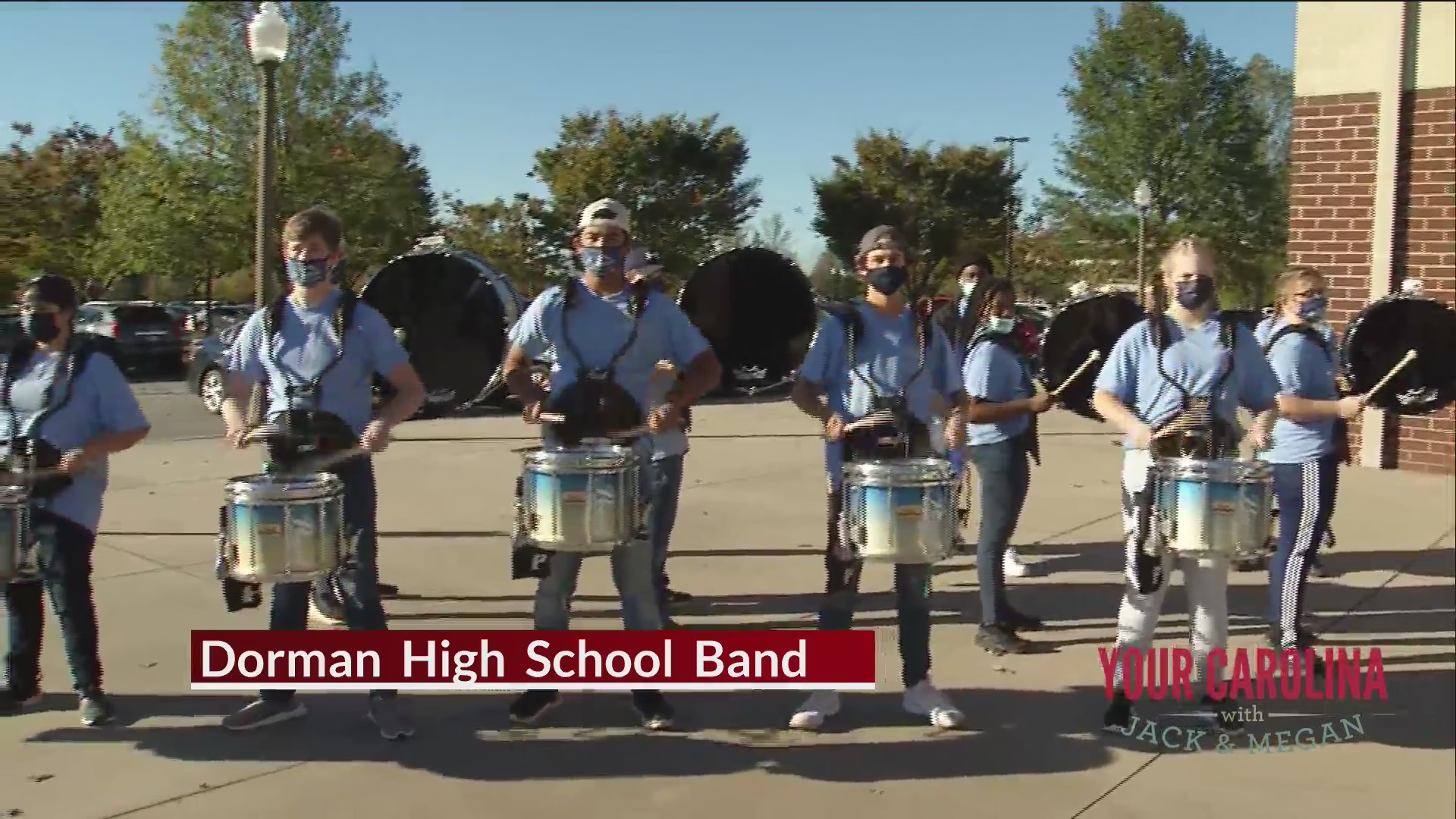 Meet Dorman High School Band