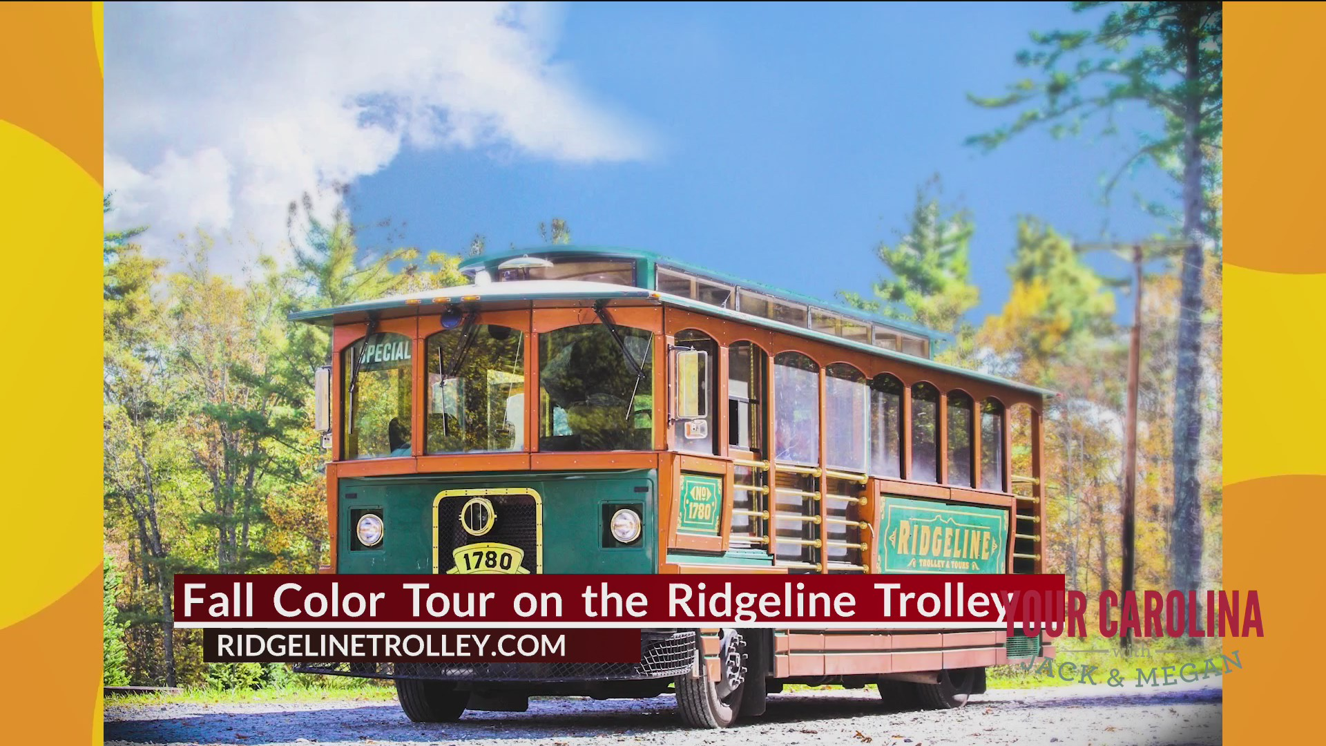 Fall Color Tour on the Ridgeline Trolley