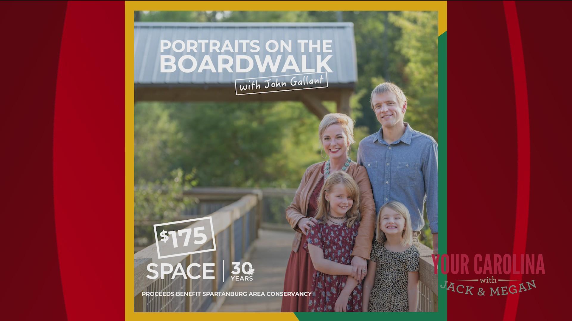 Boardwalk Portraits