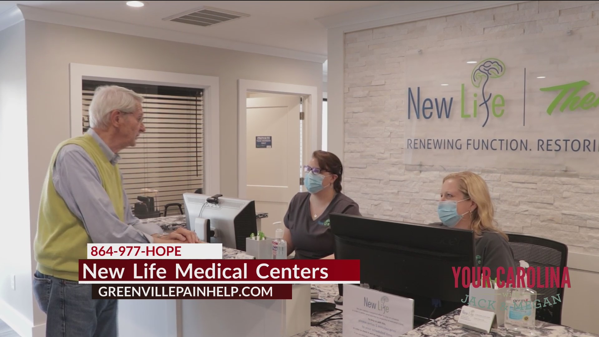 Do You Have Unresolved Joint Pain? New Life Medical Centers Can Help!