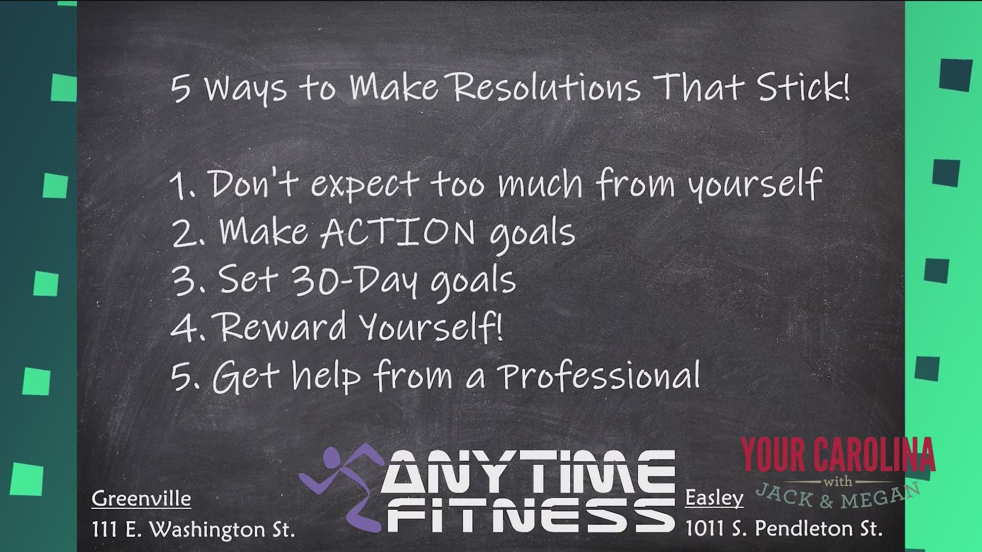 Move it Monday - 5 Ways To Stick To Your Resolutions