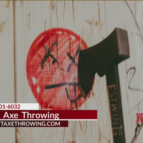 Relieve Stress And Have Some Fun At Craft Axe Throwing