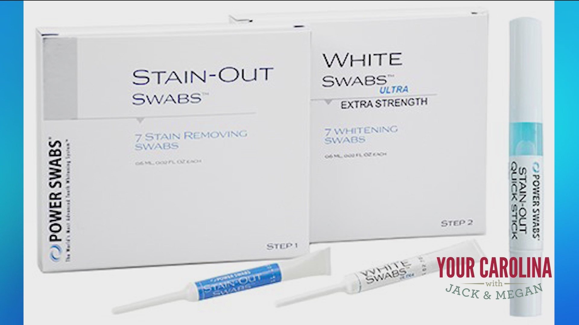 Power Swabs - The Key to a Whiter Smile