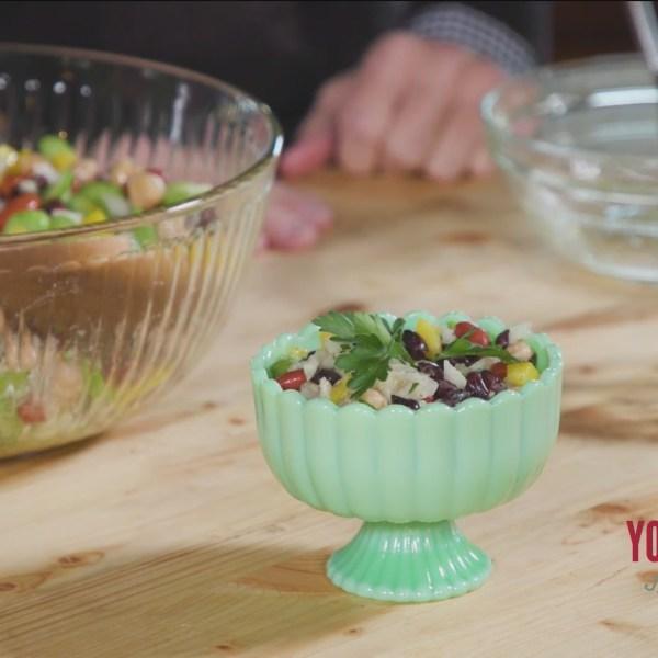 Chef's Kitchen - Marinated Confetti Bean Salad