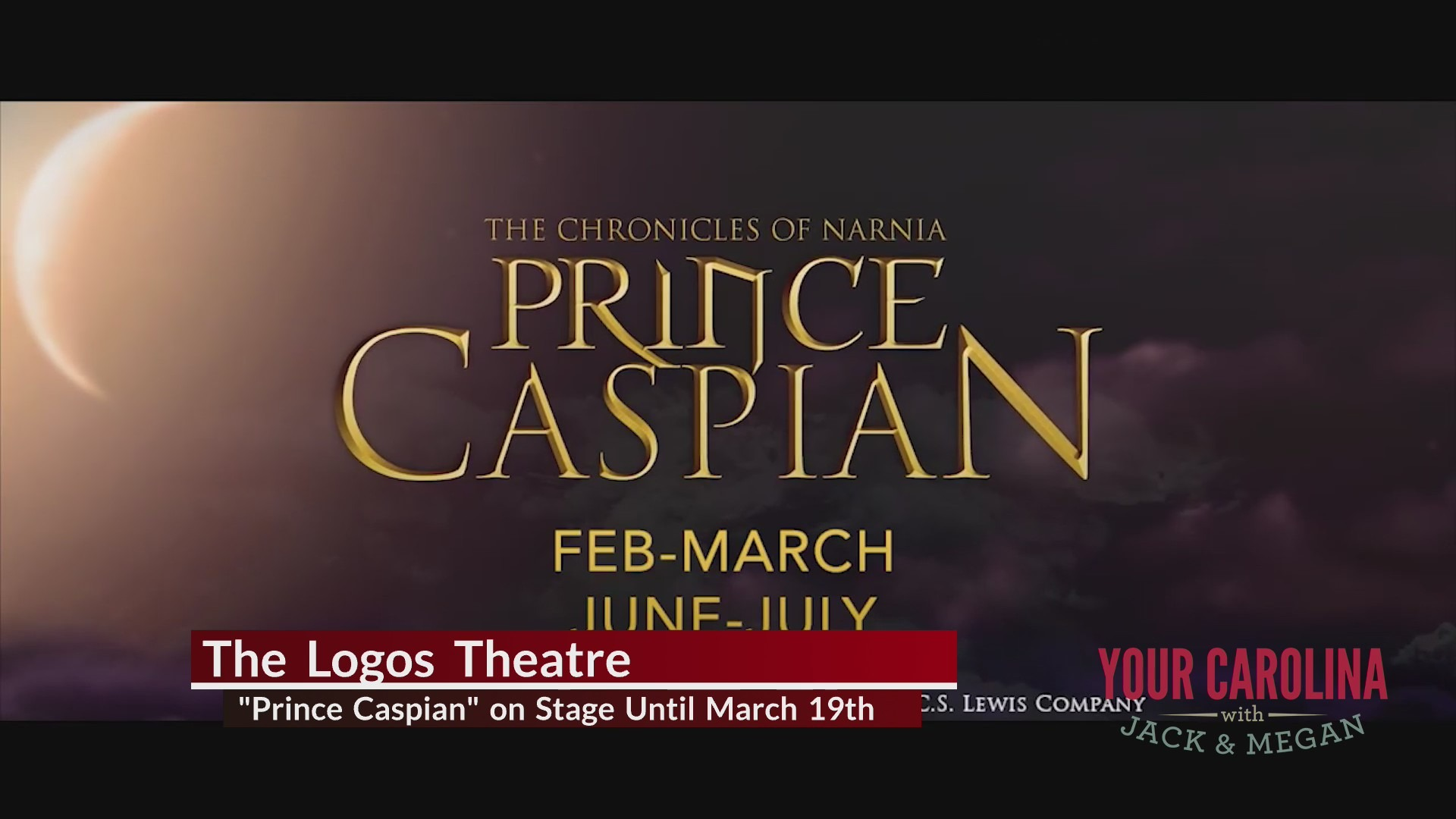 """Prince Caspian"" on Stage Now at The Logos Theatre"