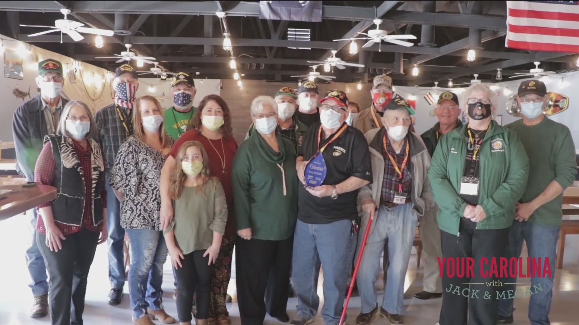 7News Honors Gary Swistak With The Caring for the Carolinas Community Service Hero Award