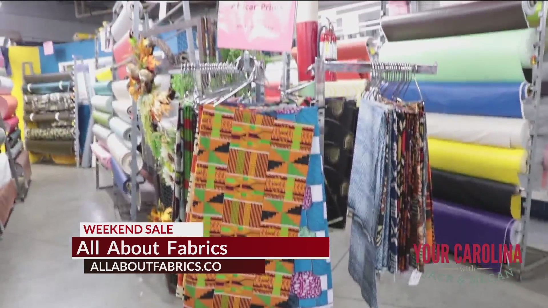 All About Fabrics Sale Happening This Weekend