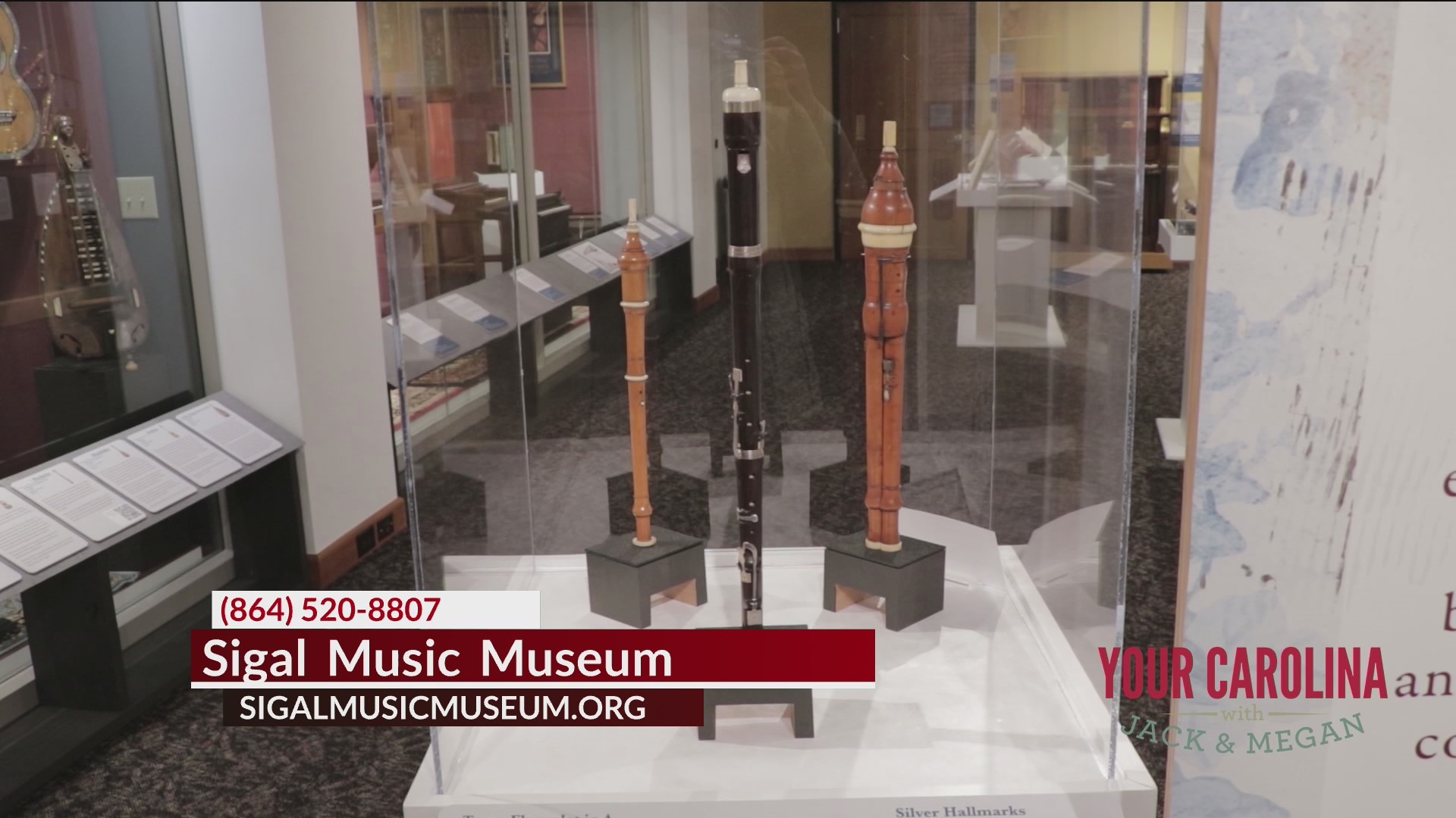 Hear what Mozart heard at Greenville's Sigal Music Museum