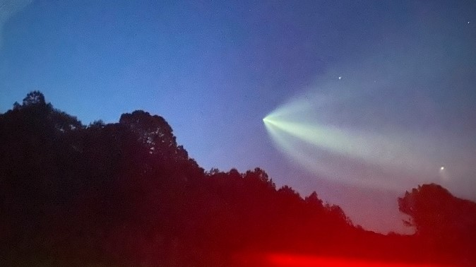 PHOTOS: Upstate residents see rocket following NASA, SpaceX launch in Fla. - WSPA 7News