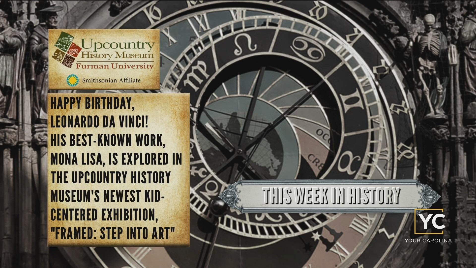 This Week In History - Happy Birthday, Leonardo da Vinci!
