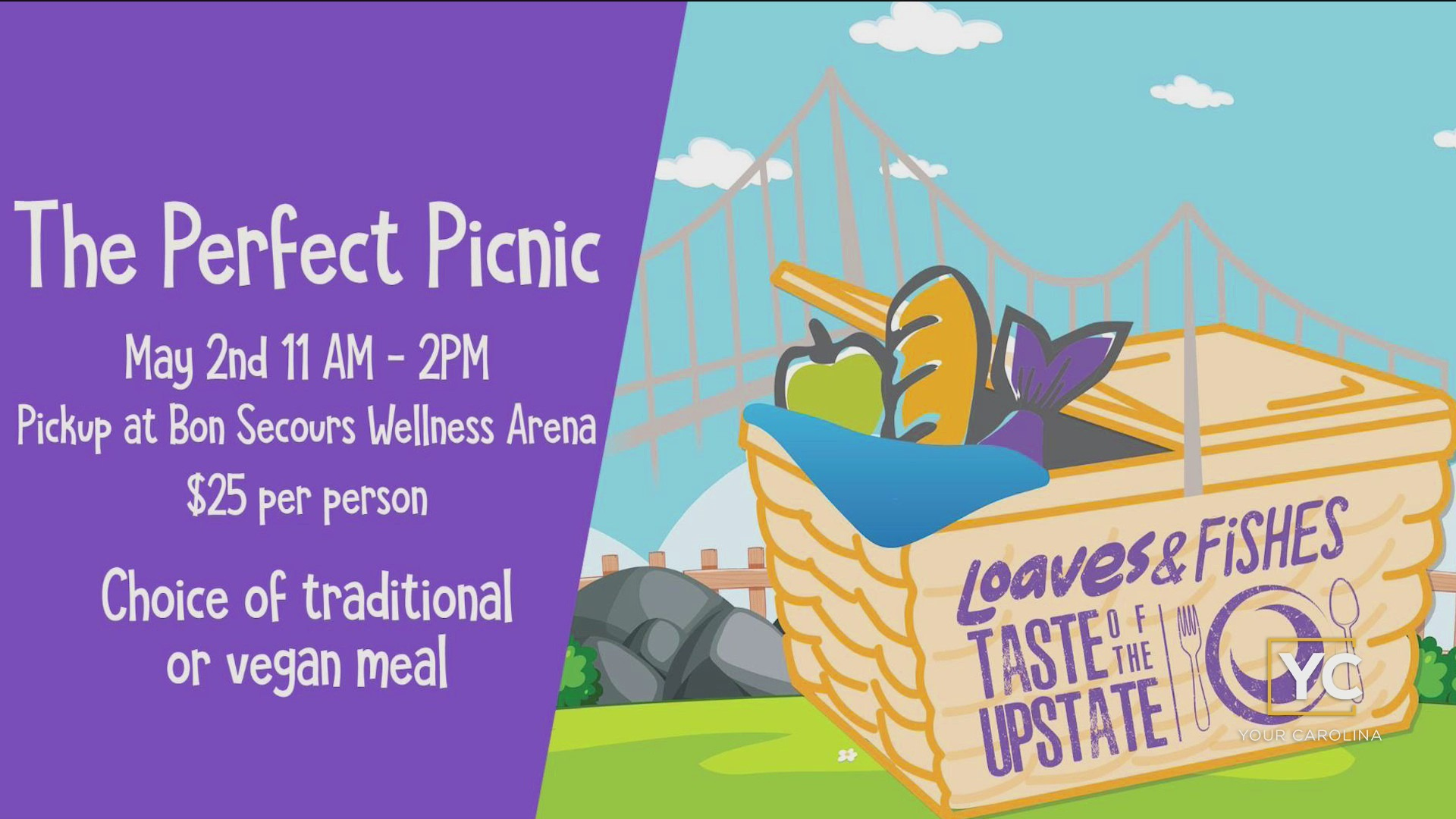 Taste of the Upstate: The Perfect Picnic