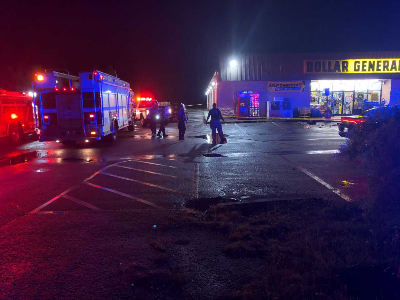 Gunshot victim reported at Dollar General in Greenville Co.