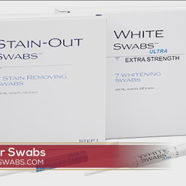 Whiten Your Teeth In Just 5 Minutes With Power Swabs!