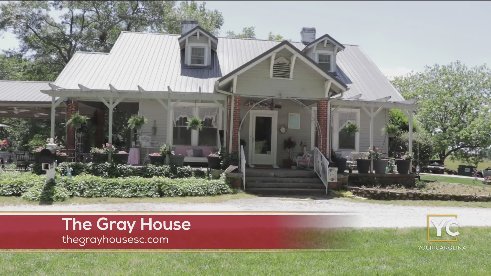 The Gray House in Starr offers destination dining, lodging and event space