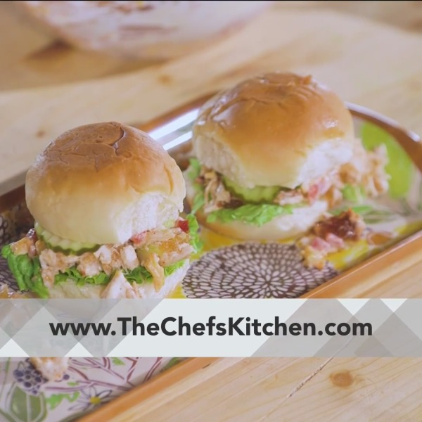 Chef's Kitchen - Clark's Pulled Chicken Pimiento Cheese Sliders