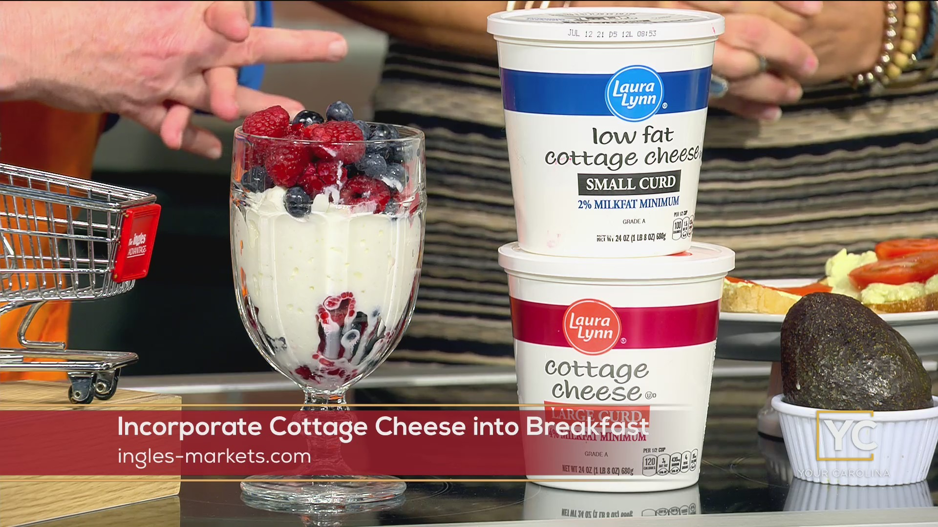 Incorporate Cottage Cheese into Breakfast