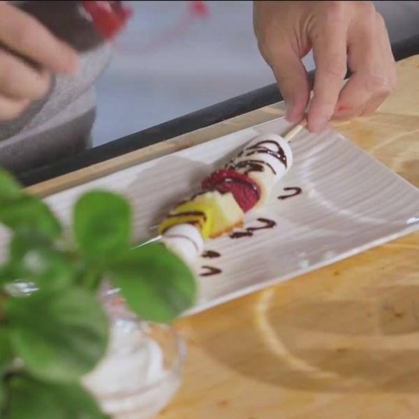 Chef's Kitchen - Jasmin's Banana Split Kebabs