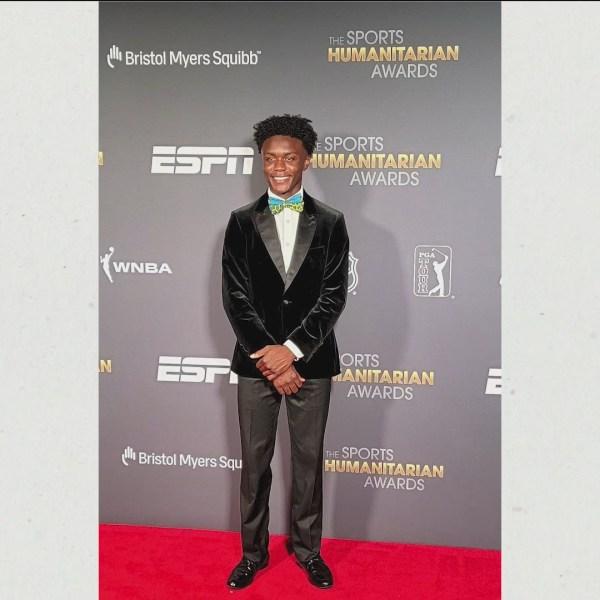Young Local Honored at ESPN Sports Humanitarian Awards