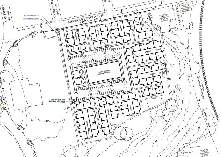 Pelzer Mill Plan