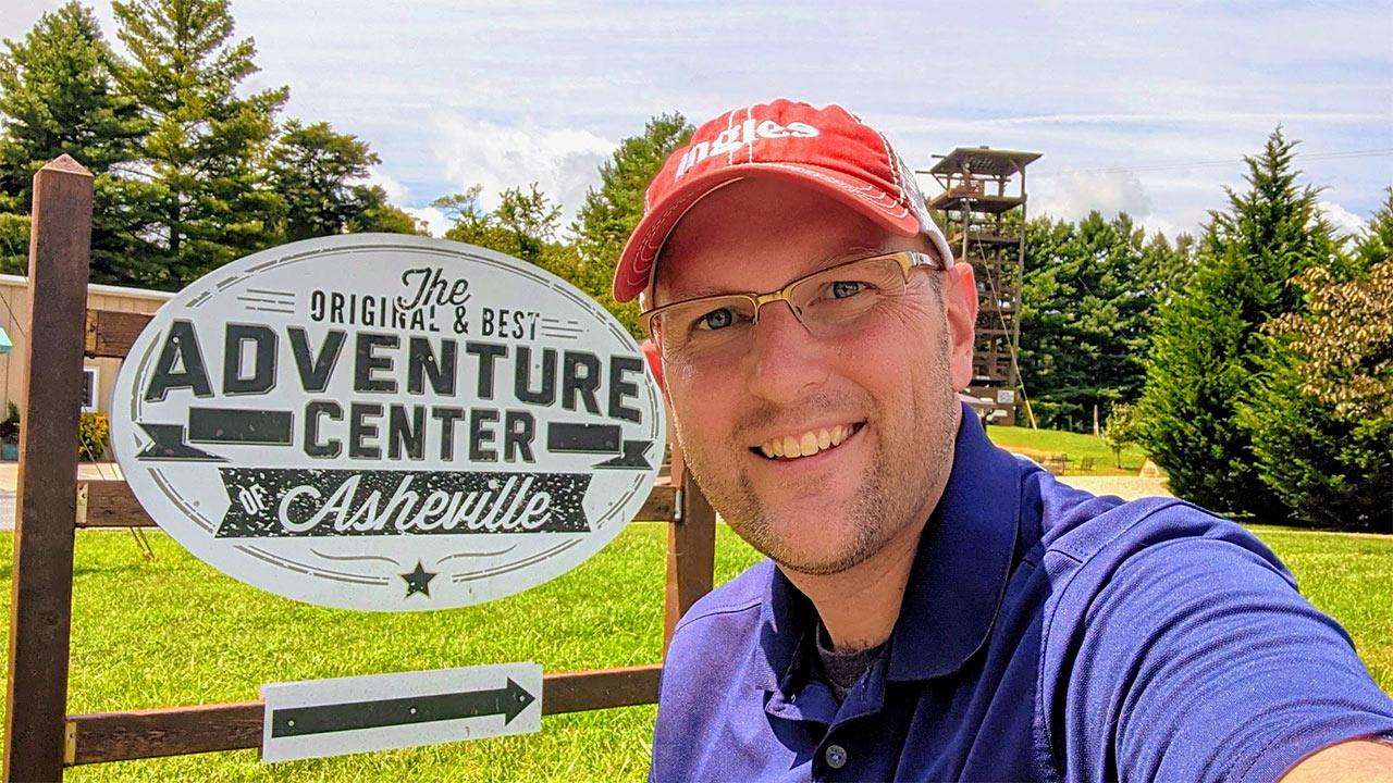 the Adventure Center of Asheville