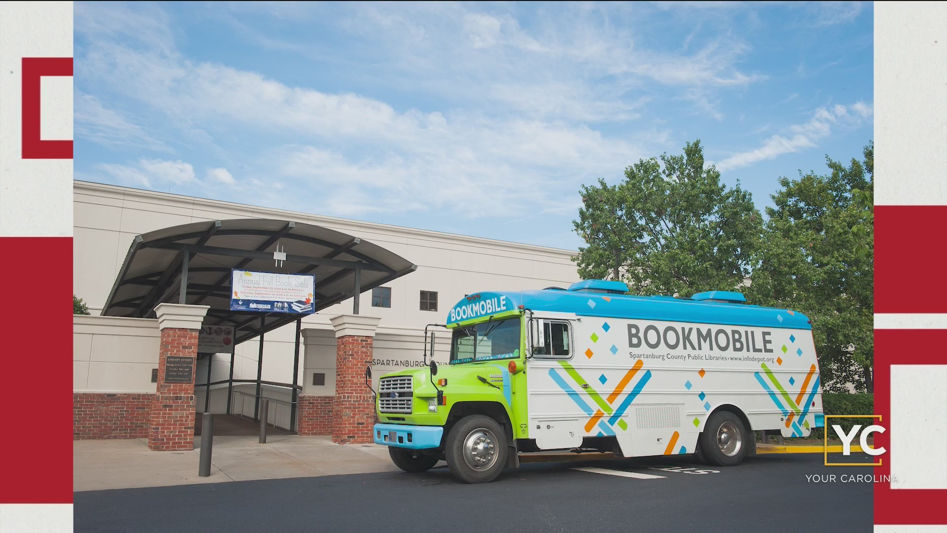 Spartanburg Library Bookmobile Services & Other Library Programs