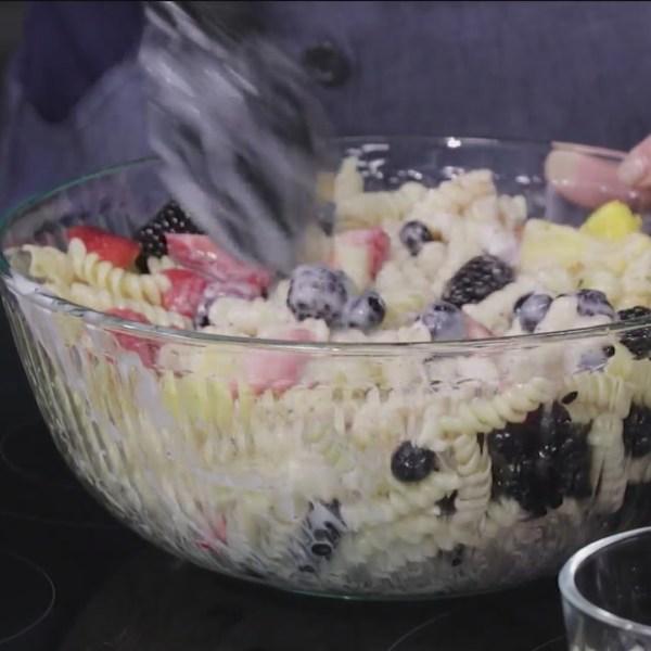 Cheryl Jordan's Fruit Pasta Salad is a Carolina Eats Fall Sweepstakes finalist