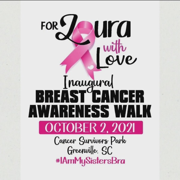For Laura With Love Inaugural Breast Cancer Awareness Walk