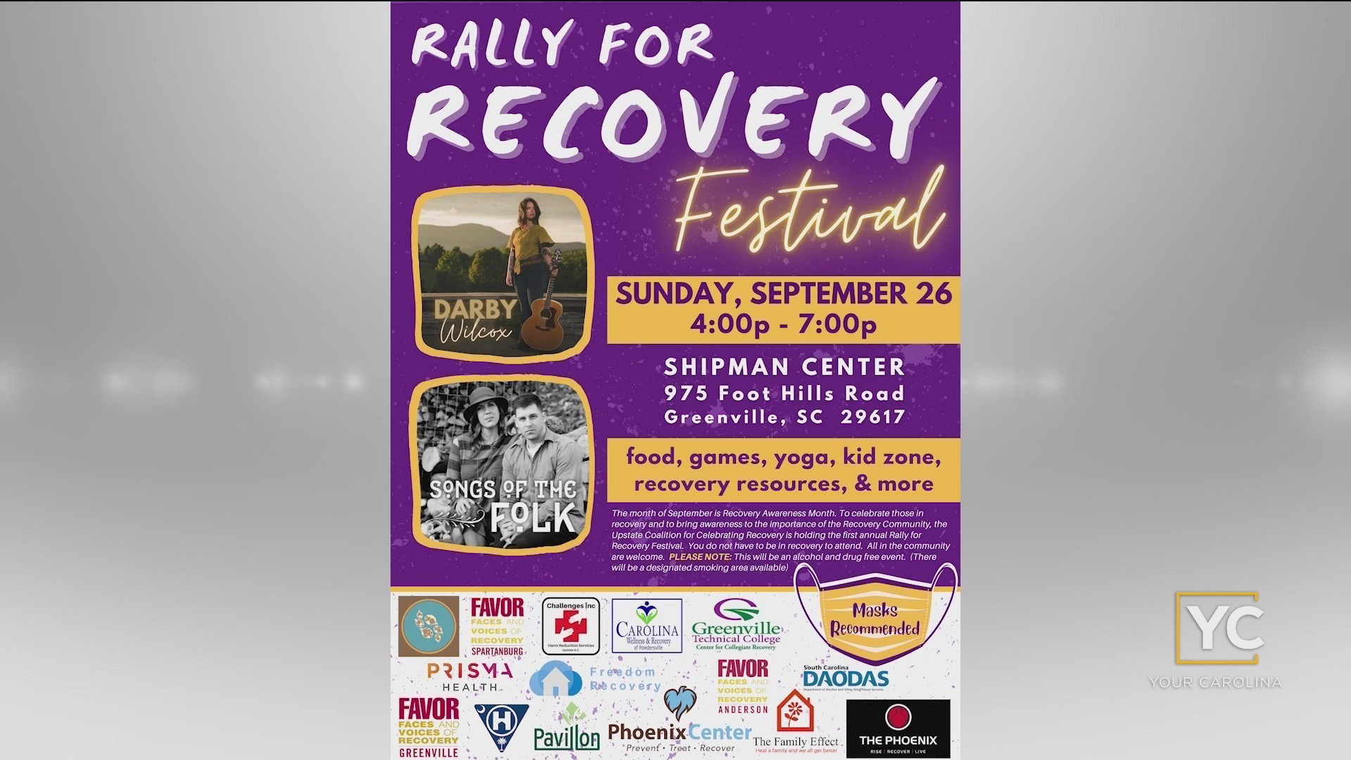Rally For Recovery