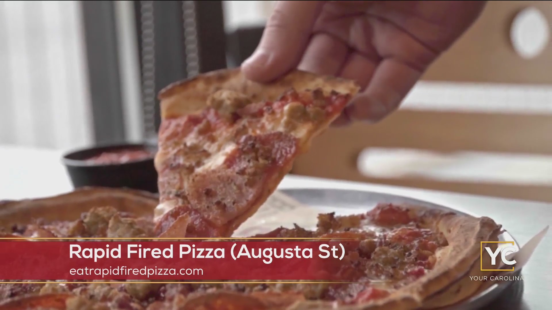 Rapid Fired Pizza on Augusta St Offering Online Ordering