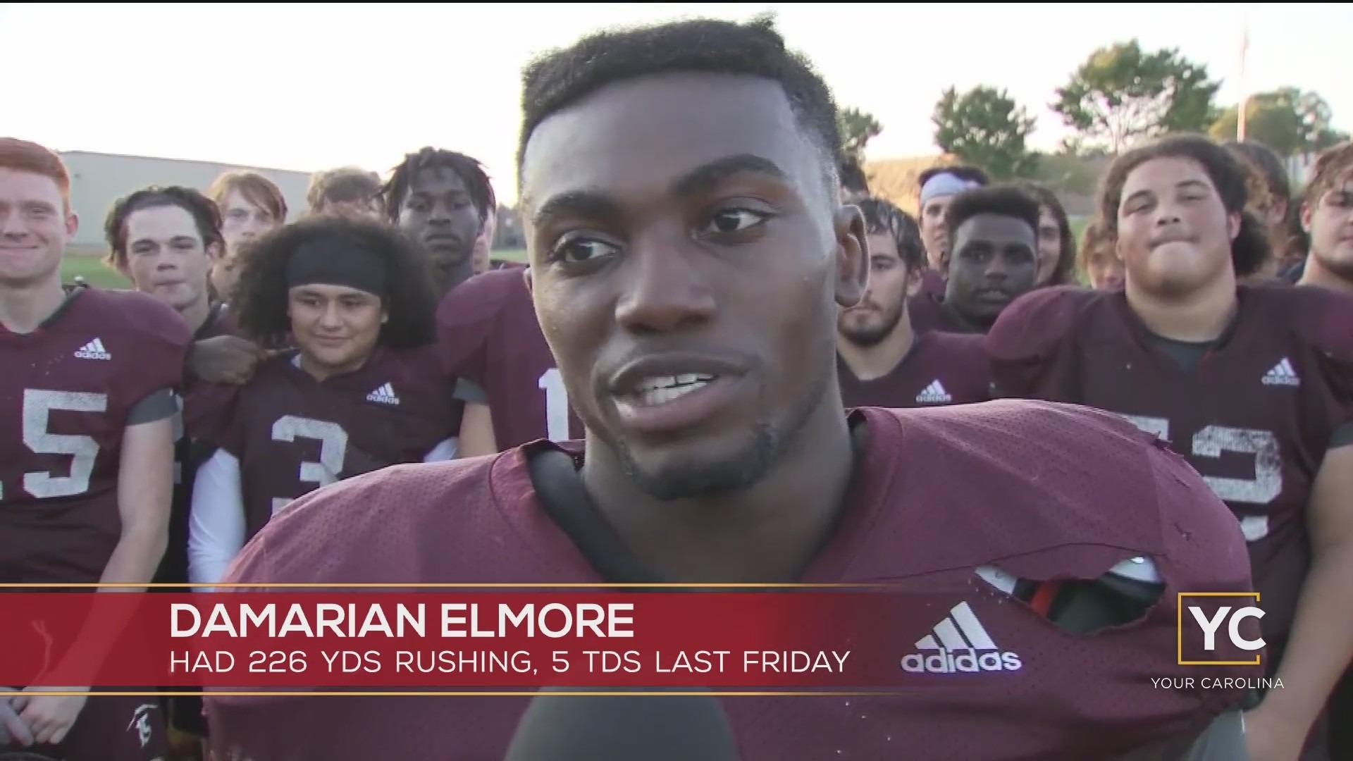 High School Standout: Damarian Elmore, RB, Woodruff