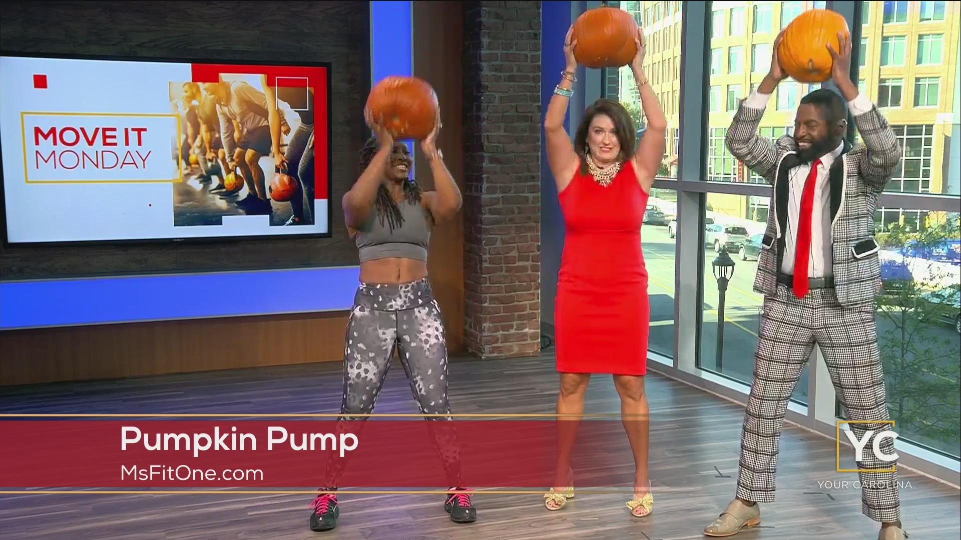 Move It Monday - Pumpkin Pump Full Body Workout